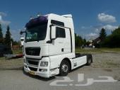 لدينا للبيع   شاحنه مان 18440 (الشكل الجديد)   موديل  2008  كابينه بالطراز الحديث