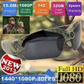 نظارات مزودة بكميرة فيديو