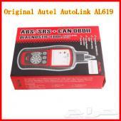 جهاز AutoLink AL619 فحص المحركات وABS و SRS أصلي