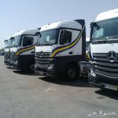 للبيع 150 راس شاحنه مرسيدس اكتروس 2013
