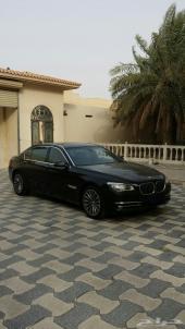 للبيع وللجادين فقط BMW 750Li موديل 2014 وارد الناغي الممشى فقط 6000 كيلو وقابل للزياده فل كامل