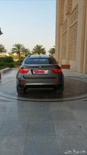 BMW  X6  twin turbo  V8الموديل   2010