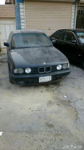 للبيع BMW e34 525 موديل 92