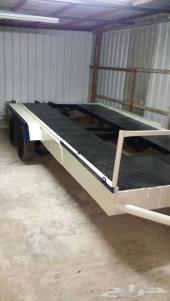 للبيع عربة قلص نظيفة ومجدده الطول 6 امتار والعرض 2 متر
