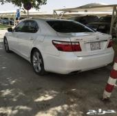 لكزس LS 460 L  لارج فل كامل (رادار واوتوبارك) سعودي نظيف جدا