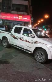 هايلوكس دبل شرط نظيفه2011فل كامل سعودي