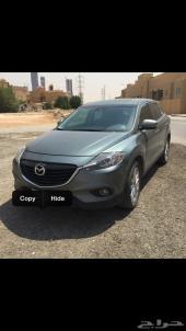 جيب مازدا CX-9 2013 فل كامل لون دلفيني في الرياض