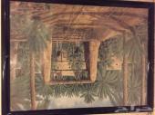 سجاد ومناظر خشبية وقماش للبيع