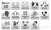 Sena SMH5 Bluetooth Headset and Intercom for Motorcycles  سماعه Sena SMH5  بلوتوث للخوذه الدباب