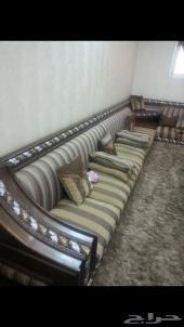 مجلس ارضي خشب نظييف قماش الجديعي لمن يفرق السوم
