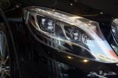 مرسيدس اليخت S 500 موديل 2014 اللون أسود ملكي