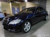 مرسيدس S 550-موديل 2012-السعر 149 الف ريال - شركة سيارتك غير