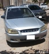 سيارة اكسنت 2003  حدي 5550 ريال