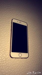 جهاز ايفون 6 اللون ذهبي 16 .