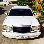للبيع مرسيدس 1991 sel560 مستوردة من اليابان لوحات بحرينية