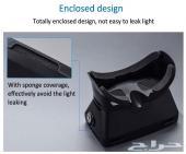 (خطير) نظارة جوجل للواقع الإفتراضي 3D تعمل على جميع الجوالات الى مقاس 6 إنش