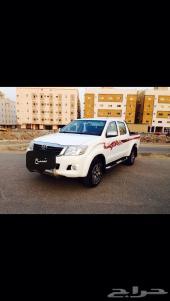 هايلكس 2013 دبل Glx سعودي بدي بلد عداد 150 الف