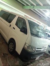تويوتا هايس باص 15 راكب سعودي 2013 السعر 73000 بنزين
