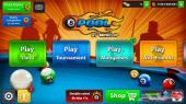 كوينز لعبة البلياردو الشهيرة 8 Ball Pool