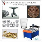 ماكينة CNC Router حفر و قطع المعادن مصنع التجهيزات المبتكرة