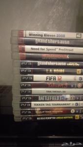 للبيع مجموعة اشرطة PS3 (وشريط PS4 واحد)