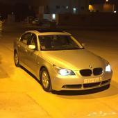 BMW2005للبيع حجم520.