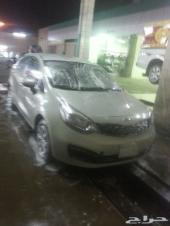 للبيع سياره  كيا ريو  موديل2012  نضيفه  جدآ  قير  توماتيك شرط على فحص اتوصل على جوال0554789984