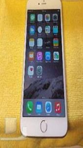 للبيع ايفون 6 بلس 128 جيجا سيلفر ممتاز