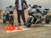 تعليم قيادة الدراجة النارية