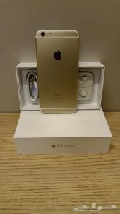 للبيع ايفون مستخدم نظيف .. iPhone 6 Plus 64GB Gold FaceTime