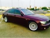 للبيع BMW 730 عنابي مميز موديل 2008فل كامل بودي بلد خالي المشاكل