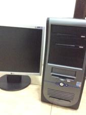 كمبيوتر مكتبي و تلفزيون للبيع العاجل