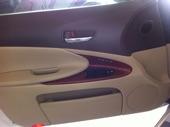لكزس جي اس 430 GS ابيض لؤلؤي نظيف