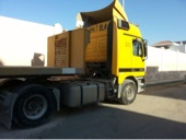 شاحنة مرسيدس اكتروس 2002م