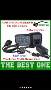 جهاز ck-100 لبرمجة جميع مفاتيح وريموتات السيارات