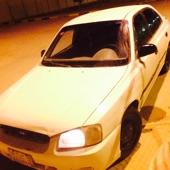 اكسنت 2001 للبيع المنطقه الرياض