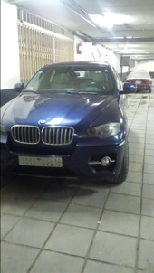 BMW X6 2008 نظيف لون كحلي