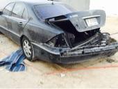 مرسيدس s500 مصدومه موديل 2002 للبيع
