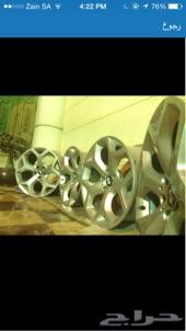 جنوط بي ام اكس اكس BMW 2012 x6 وكاله ( اصليه ) للبيع  المقاس (20x8.5)  Wheels BMW x6 2012  The agenc