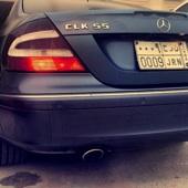 Mercedes CLK AMG55  كت فقط 320