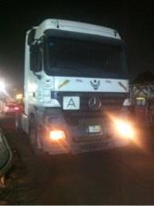 شاحنة مرسيدس اكتروس 2005 للبيع