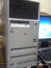 للبيع كمبيوترات مكتبية من HP أصليه  معا طابعات HP بسعر رخيص
