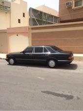 مرسيدس 560 فل كامل نظيف 1991