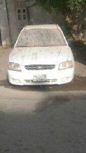سيارة اكسنت موديل 2001 للبيع