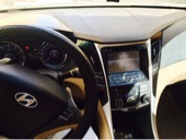 سيارة سوناتا 2011 نص فل فتحت سقف بانوراميه وشاشه
