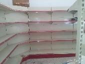 تجهيز المستودعات والمحلات   والسوبر ماركت واشتري جميع انواع الرفوف 0559369784