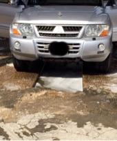 باجيرو 2004 فضي فل كامل نظيف