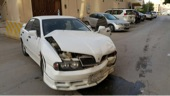 سيارة ماجنا ميتسوبيشي مصدومه للبيع
