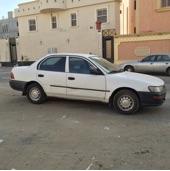 سيارة كورلا نظيفه للبيع