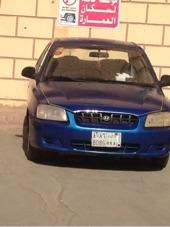 للبيع سيارة هيونداي اكسنت موديل 2003